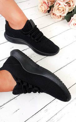 View the Nala Lace Up Knit Trainer  online at iKrush