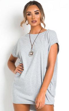 View the Nancy Oversized T-Shirt Dress online at iKrush
