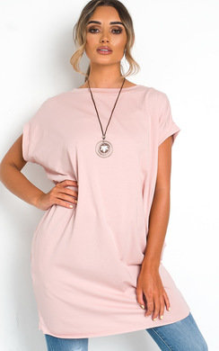 View the Nancy Oversized T-Shirt Dress online at iKrush
