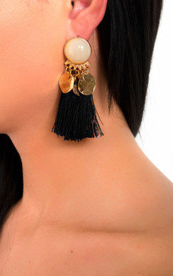 View the Nancy Tassel Drop Earrings  online at iKrush