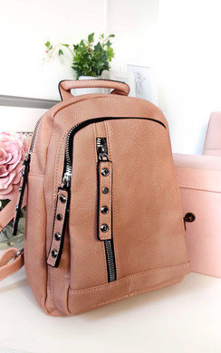 View the Naya Faux Leather Backpack Bag online at iKrush