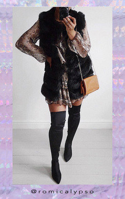 View the Nelli Stretch Thigh High Block Boots  online at iKrush