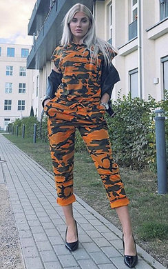 View the Nikki Camo Lounge Co-ord online at iKrush