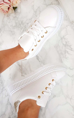 View the Nikki Glitter Chunky Trainer  online at iKrush