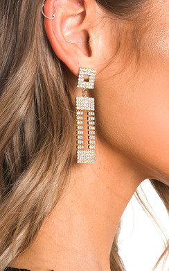 View the Nina Diamante Drop Earrings  online at iKrush