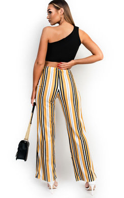 View the Ninna High Waist Striped Trousers  online at iKrush