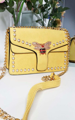 View the Ninna Pearl Studded Shoulder Bag online at iKrush