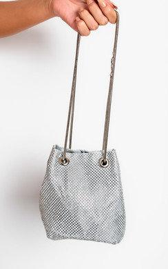 View the Nova Diamante Embellished Shoulder Bag online at iKrush