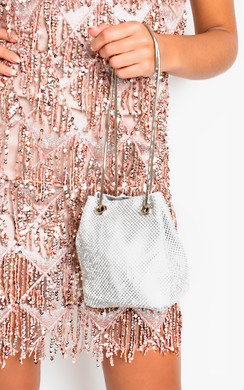 View the Nova Diamante Embellished Shoulder Bag online at iKrush