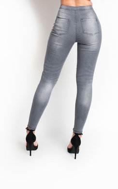 View the Nyla High Waisted Skinny Jeans online at iKrush