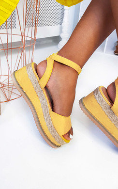 View the Olivia Flatform Sandals online at iKrush