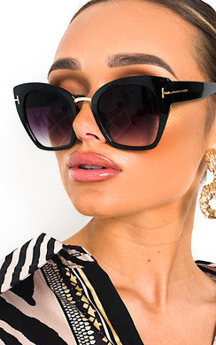 View the Orla Oversized Square Lens Sunglasses online at iKrush