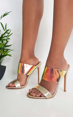 View the Paloma Iridescent Heels online at iKrush