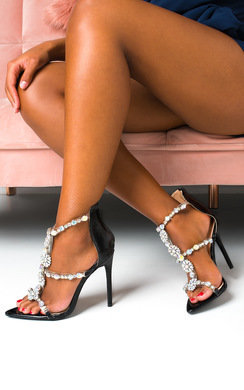 View the Penelope Jewelled High Heels  online at iKrush