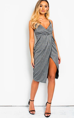 View the Penelope Shimmer Midi Dress online at iKrush