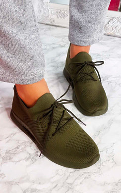 View the Pennie Lace Up Sock Trainer  online at iKrush