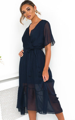 View the Perrie Frill Maxi Dress online at iKrush