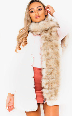 View the Petra Soft Faux Fur Scarf online at iKrush