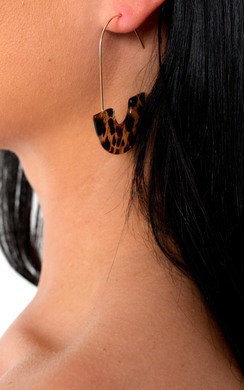 View the Philly Hook Hoop Pattern Earrings  online at iKrush