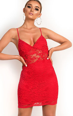 View the Pippa Lace Bodycon Dress online at iKrush