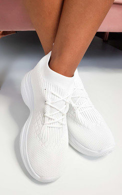 View the Pippa Lace Up Sock Trainer  online at iKrush