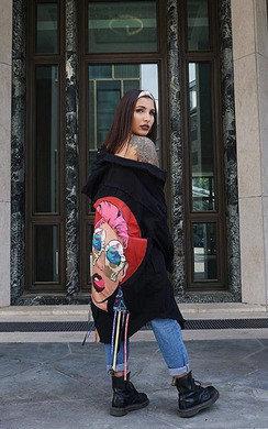 View the Pixi Graphic Denim Shirt Dress online at iKrush