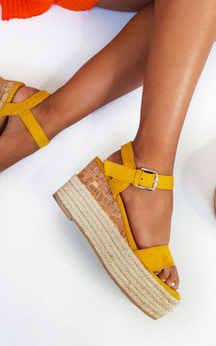View the Polly Flatform Wedged Sandals online at iKrush