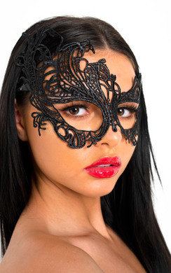 View the Portia Lace Eye Mask online at iKrush