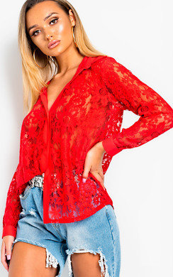 View the Posy Lace Blouse  online at iKrush