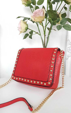 View the Rainie Studded Croc Style Bag online at iKrush