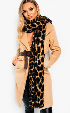 View the Randy Soft Leopard Print Scarf online at iKrush