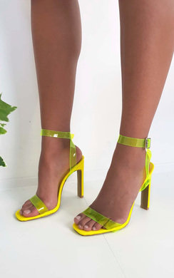 View the Razzi Barely There Perspex Heels online at iKrush