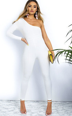 View the Reegan One Shoulder Jumpsuit online at iKrush