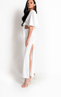 View the Reign High Waisted Ring Split Trousers  online at iKrush