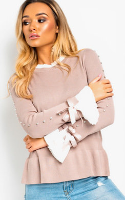 View the Rein Studded Ribbon Jumper online at iKrush