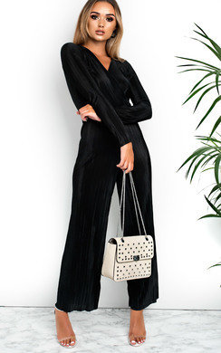 View the Riley Ribbed Wide Leg  Jumpsuit online at iKrush