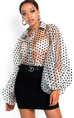 View the Rita Belted Mini Skirt  online at iKrush