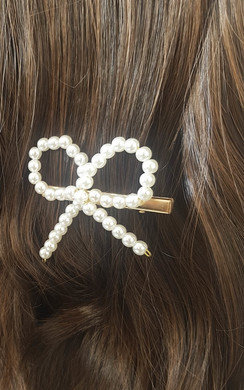 View the Robyn Bow Detail Hair Clip online at iKrush