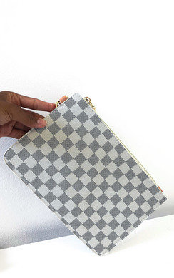 View the Robyn Check Clutch Bag online at iKrush