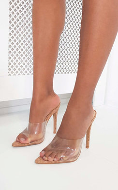 View the Robyn Cork Mule Heels online at iKrush