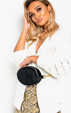 View the Robyn Velvet Quilted Belt Bag online at iKrush