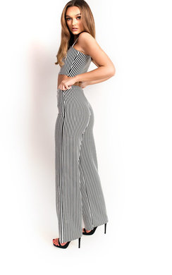 View the Rose Stretch Wide Leg Co-ord online at iKrush