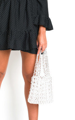 View the Rosie Beaded Embellished Shoulder Bag online at iKrush
