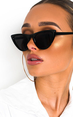 View the Rosie Cat Eye Sunglasses online at iKrush