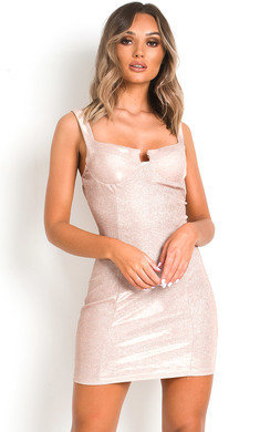 View the Roxy Glitter Mini Bodycon Dress online at iKrush