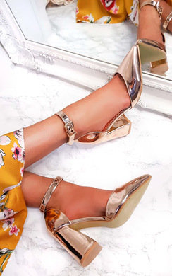 View the Ruby Pointed Buckle Heels  online at iKrush