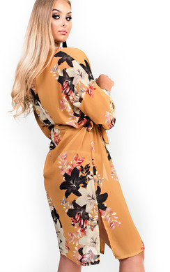 View the Rylie Floral Kimono Cardigan online at iKrush