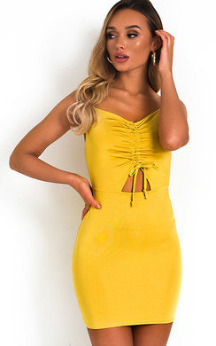 5678a1d6d899 View the Safron Slinky Bodycon Dress online at iKrush