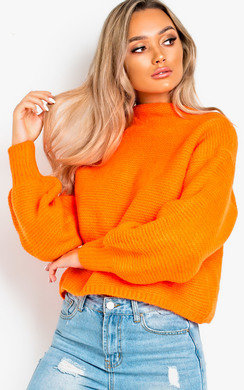 View the Sage Chunky Knitted Jumper online at iKrush