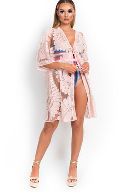 View the Sami Crochet Lace Beach Cover Top online at iKrush